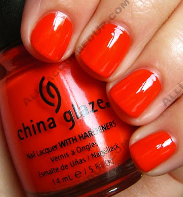 I love how orange nail polish is a camilion. Shade 2 was light and pretty, while this shade is dark and smooth. Love it!