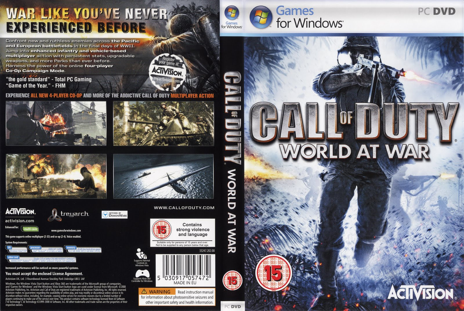 [PC-DVD9] Call Of Duty - World At War