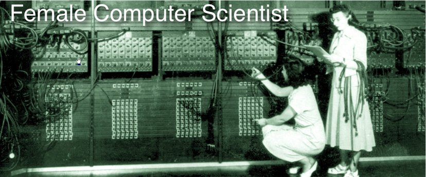 Female Computer Scientist