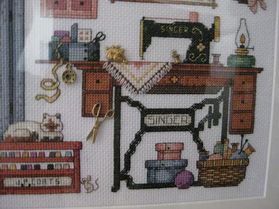 All Good Things Sewing Room Cross Stitch