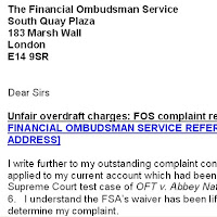 Govan law centre unfair bank charges free help to amend for Bank charges refund letter template
