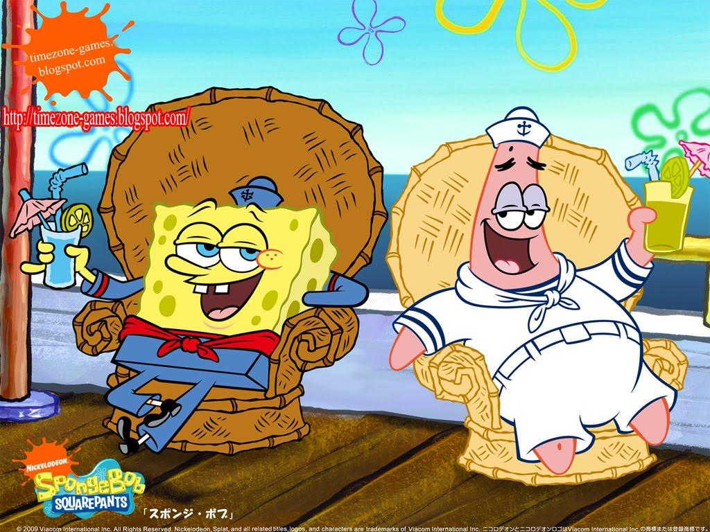 Spongebob and Patrick Sailor Spongebob Wallpapers | Cute ...