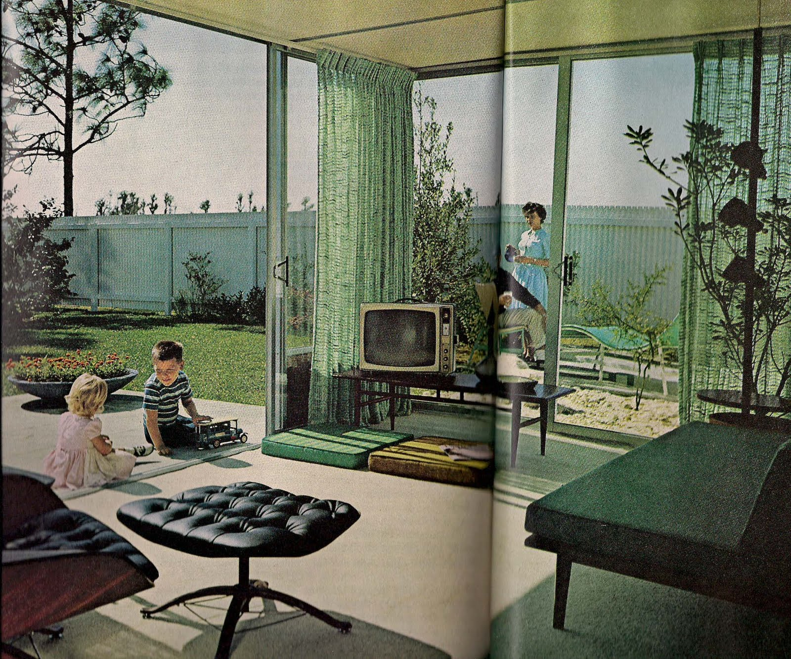 Retro Shack Interiors 1960 S Living In Case You Weren T