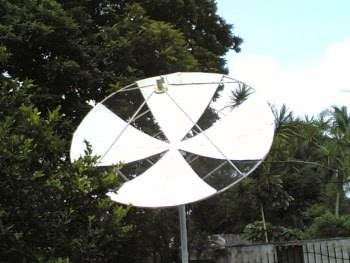 Image result for dish antenna at home