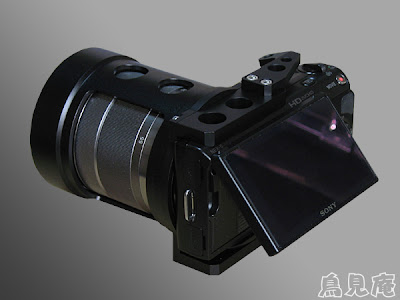 sony nex-5 digiscoping kowa spotting scope