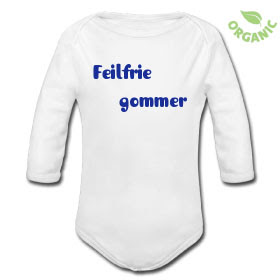 a9855f1b Kule T-skjorter Nettbutikk: Feilfrie gommer babybody