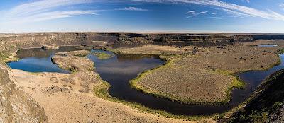 Dry Falls, 5 km de antiguas cataratas.
