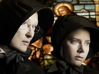 Meryl Streep le da clases de actuación a Amy Adams en pleno Doubt