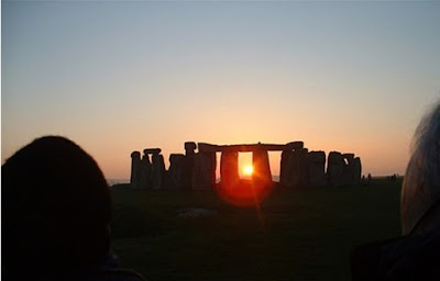 Winter solstice at Stonehenge