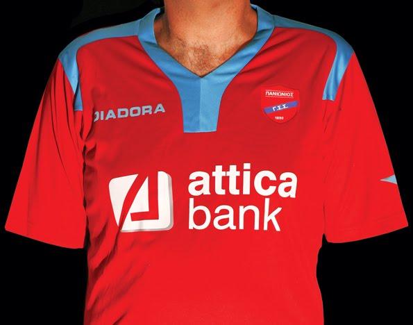 Αυτές είναι οι φανέλες που θα φορά η ποδοσφαιρική ομάδα του Πανιωνίου. Ο  σύλλογος συμπληρώνει φέτος 120 χρόνια ζωής και όμως η φανέλα δεν έχει τη  παραμικρή ... d252461a97c