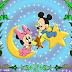 Disney Babies: Free Printable Frames or Invitations.