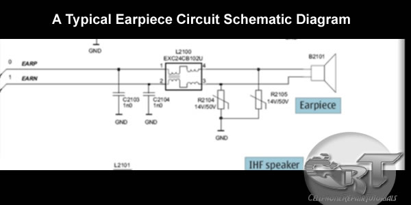 Earpiece Ihf Speaker Or Buzzer And Vibrator On Mobile Phone Circuits