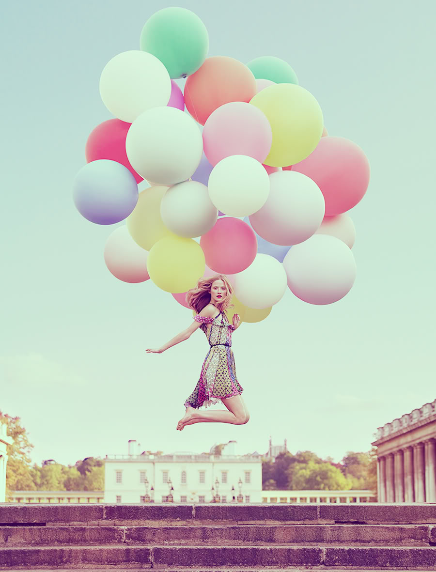 pretty things: pretty pictures: balloons