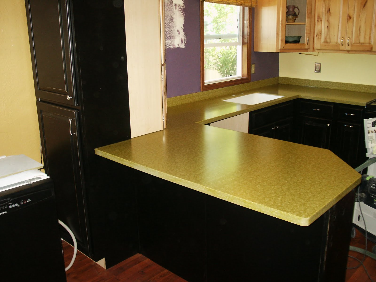 Richlite Countertop Reed Mountain Countertops - Alberton, Montana: Bremer Job