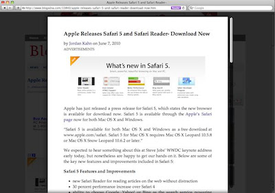 Download safari 5