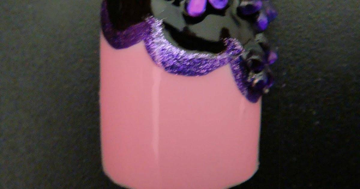 BeautifulYouTV: Fancy toe nail design