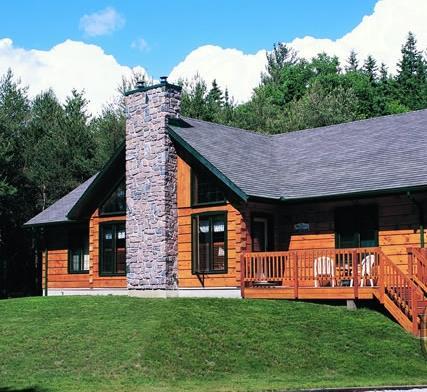 Casas de madera prefabricadas casas blancas de madera - Casas de madera blancas ...