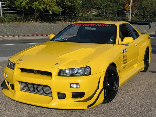 C-West Demo R34 - Some recent pictures - Nissan Skyline GT ...