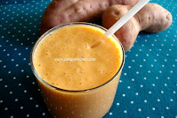 http://www.sailajakitchen.org/2010/06/sweet-potato-smoothie.html