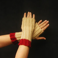 Fingerless gloves are on sale now!