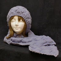 Cashmere scarf set on sale at AllThingsTangled