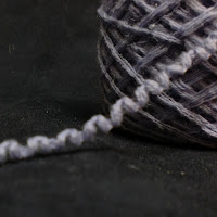 Cashmere upcycled yarn, on sale at AllThingsTangled