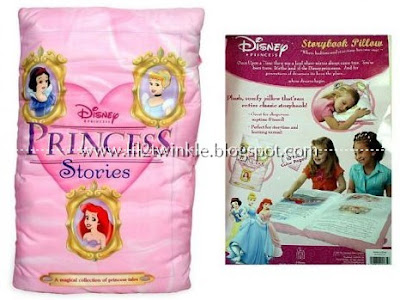 lil' twinkle: Disney Princess Giant Story Book Pillow
