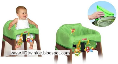 Prime Lil Twinkle Fisher Price Portable High Chair Cover Gmtry Best Dining Table And Chair Ideas Images Gmtryco
