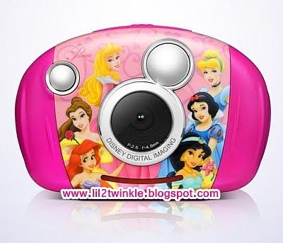 Lil Twinkle Disney Kids 3 1mp Camera