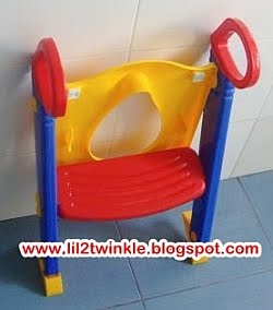 Lil Twinkle Children Step Toilet Trainer