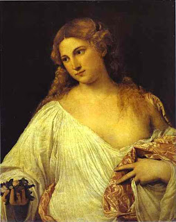 World Famous Paintings: Flora by Titian