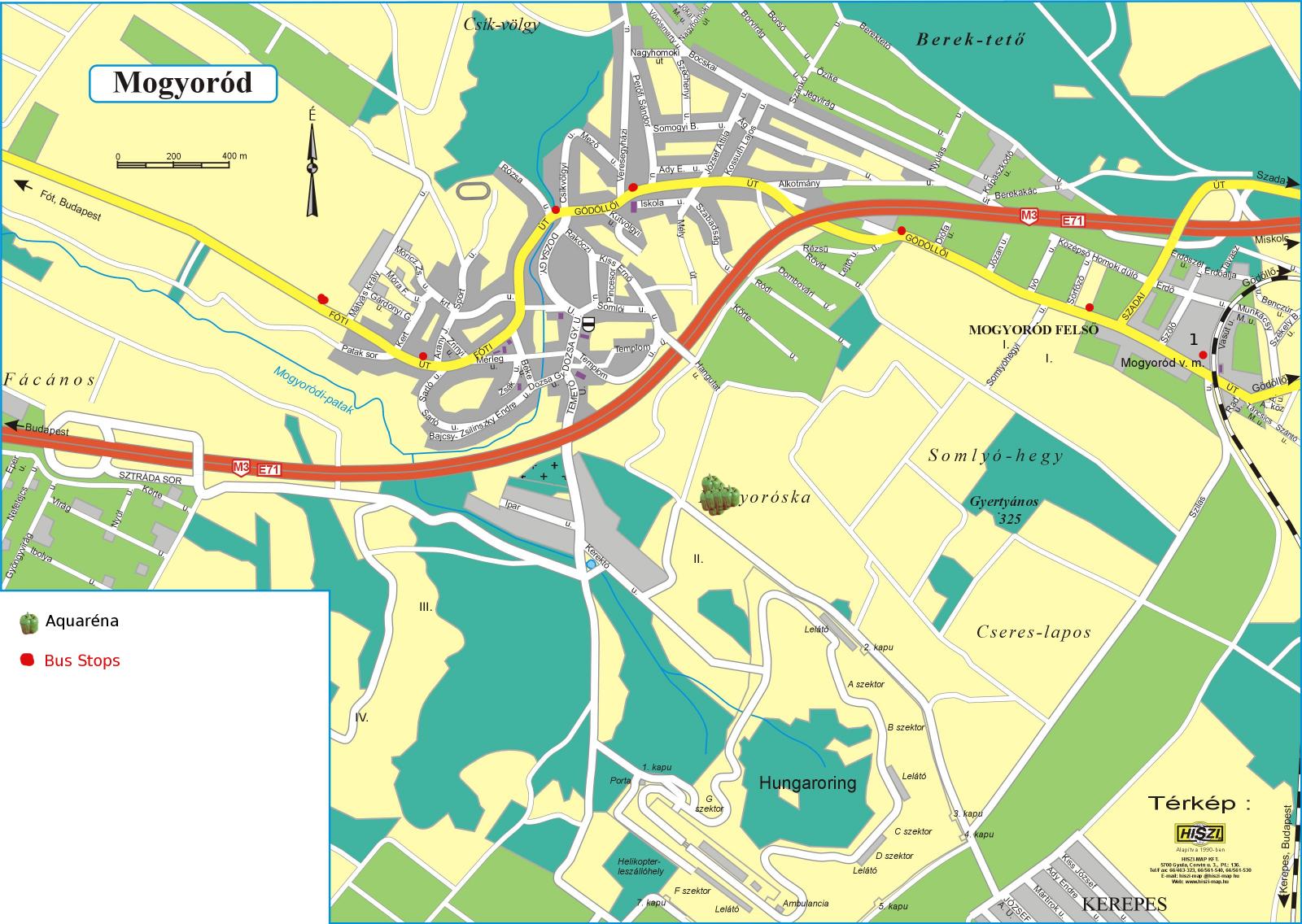 szilasliget térkép The Hitchhiker's Guide to Hungary: HÉV to Gödöllő, and seeings in