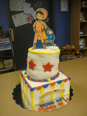 Cakes By Lam Designs Word Girl Birthday