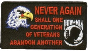 NEVER AGAIN SHALL ONE GENERATION OF VETERANS ABANDON ANOTHER