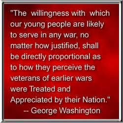 PRESIDENT GEORGE WASHINGTON'S QUOTE