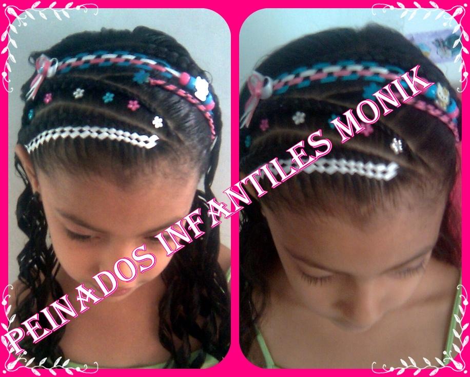 Peinados Infantiles Monik Diademas