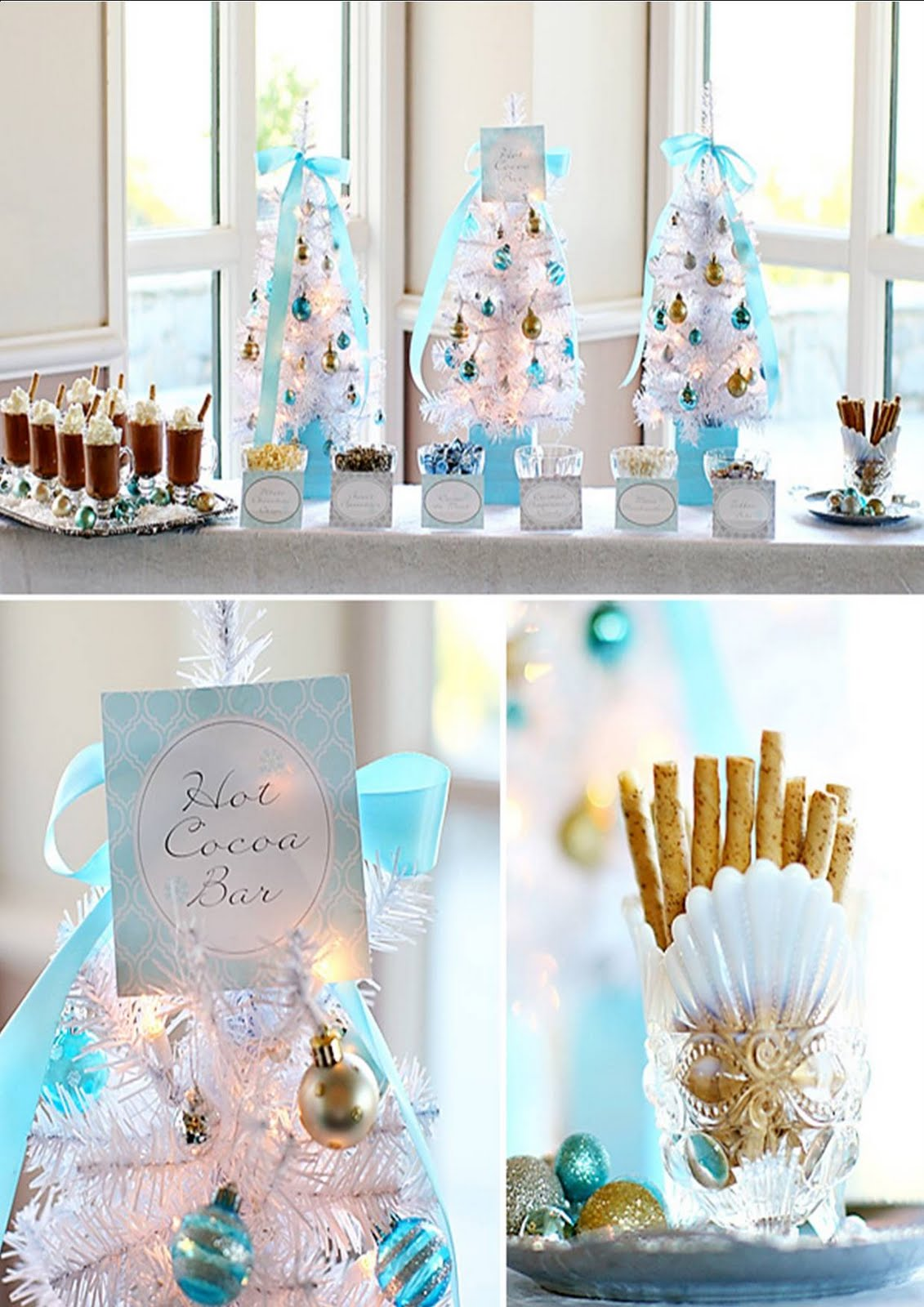 Christmas Party Set Up Ideas The Party Fetti Blog