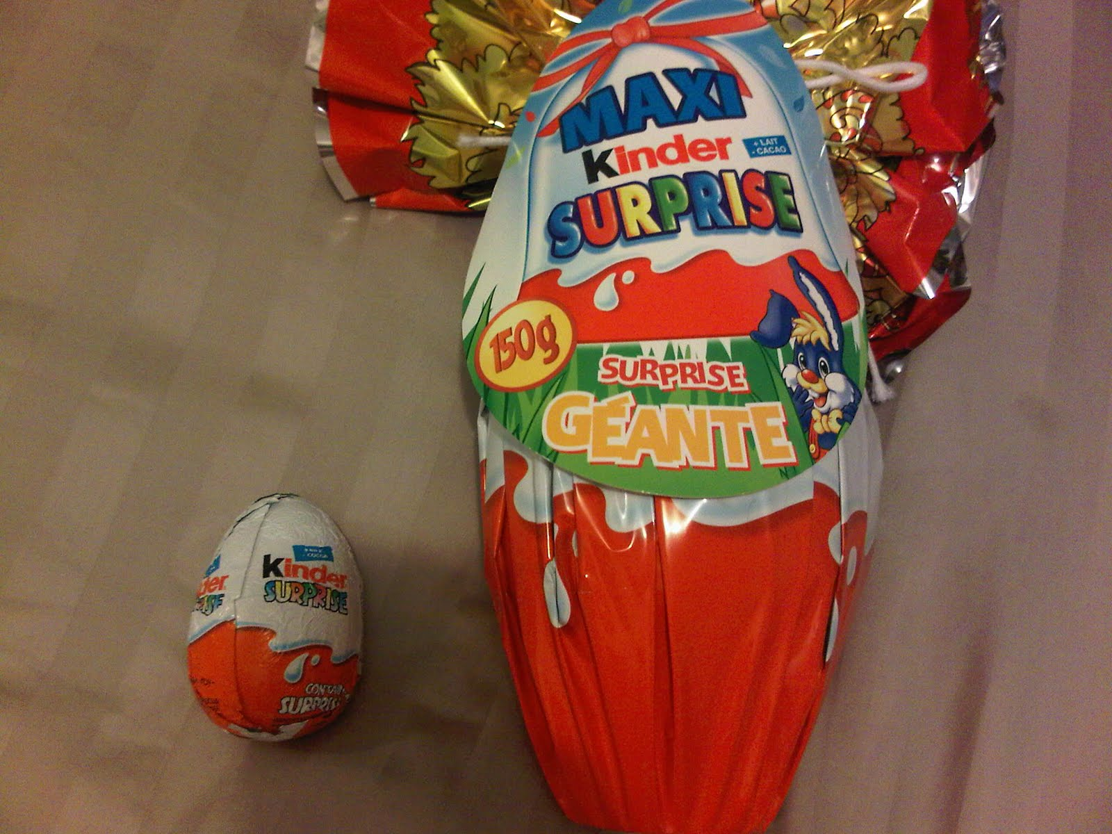 Large kinder surprise easter eggs netmums chat large kinder surprise easter eggs negle Choice Image