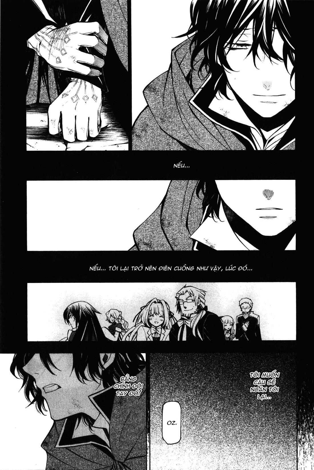 Pandora Hearts chương 035 - retrace: xxxv madness of lost memories trang 34