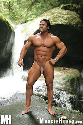 Bodybuilder daniel morocco naked here