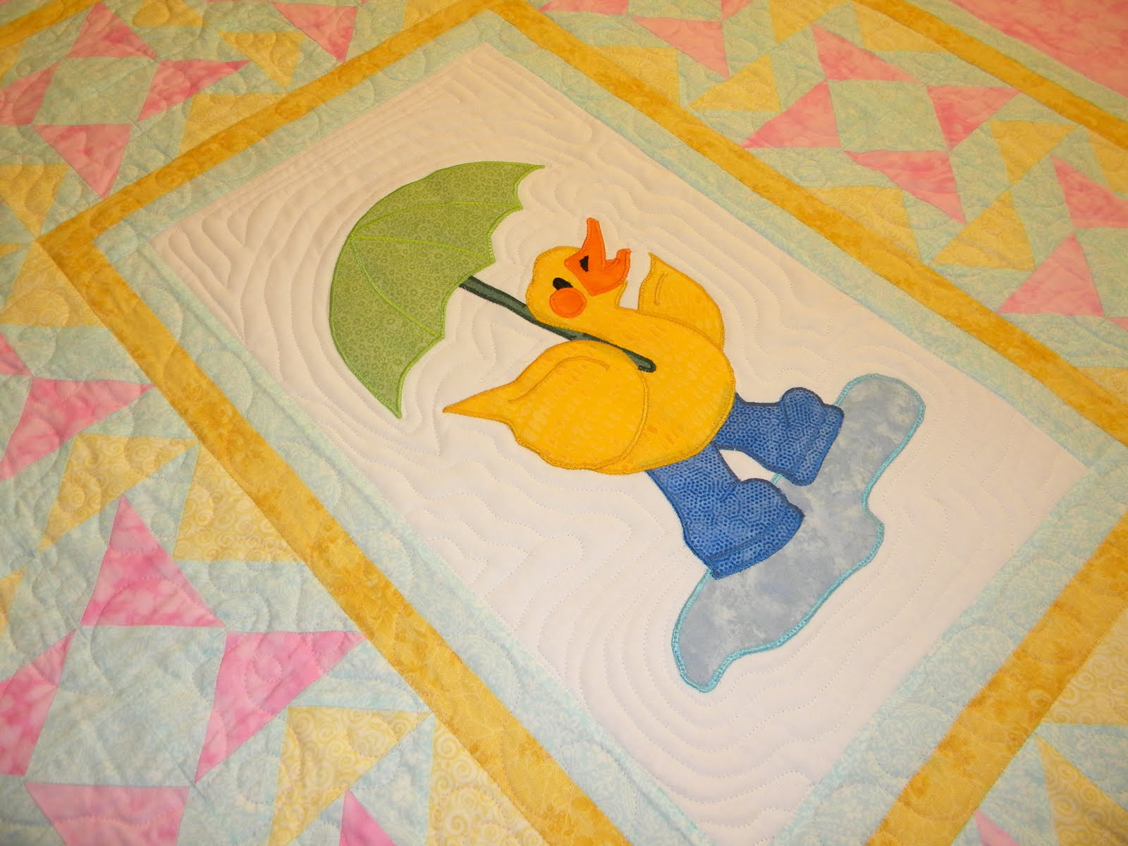 Centex Quilting Company Duck Baby Quilt