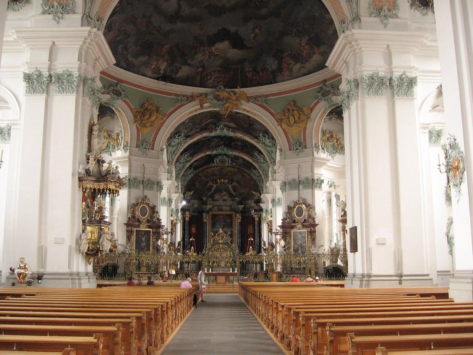 The Yoke of Christ: St  Gall