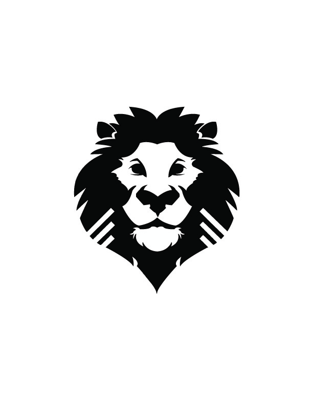 Rawr  I did not create the lion  I just traced it for my New Media    Lion Logo Images