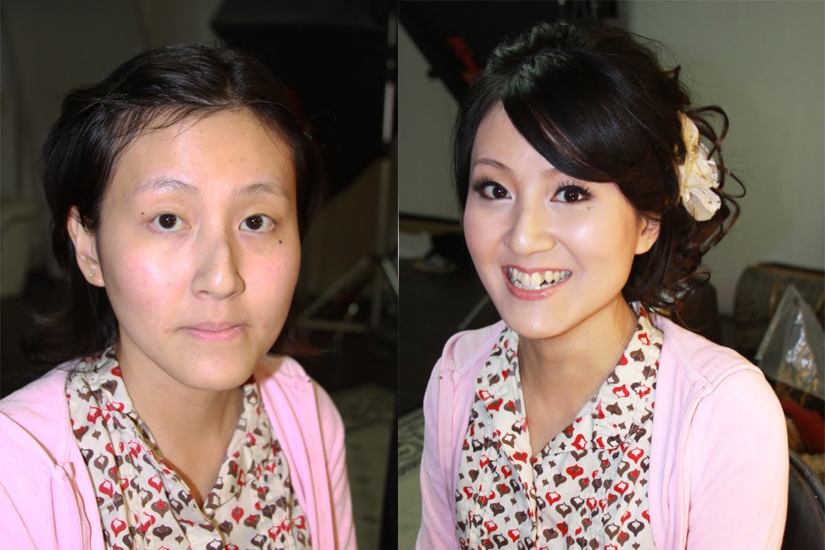 Before & After » Chiali Meng Professional Wedding Makeup