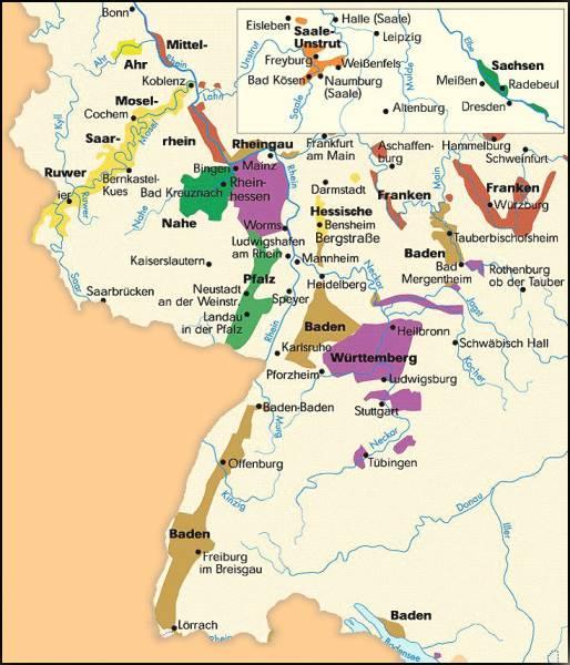 """Картинки по запросу """"deutschland wine map"""""""