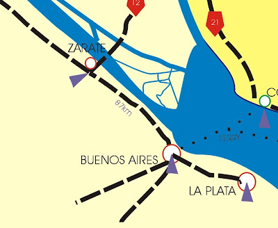 mapa buenos aires zarate