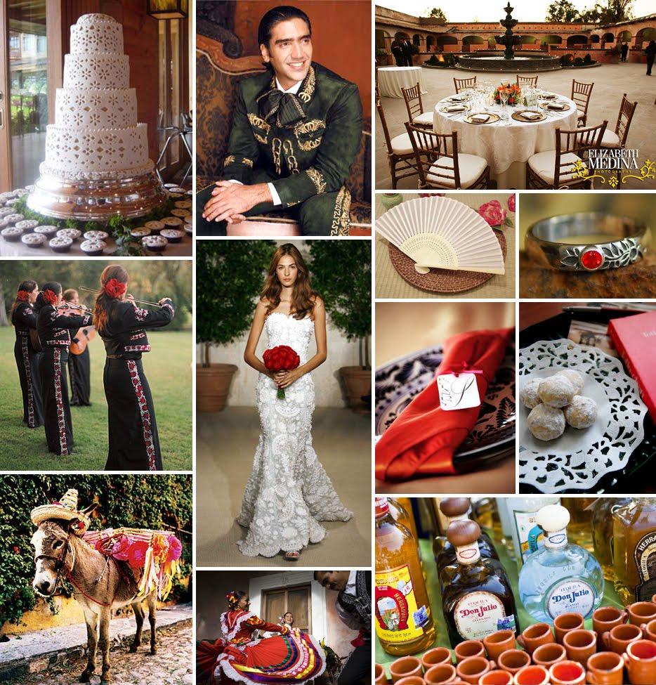 Mexican Themed Wedding Reception: Day Dabbler: Spanish Hacienda Style Wedding