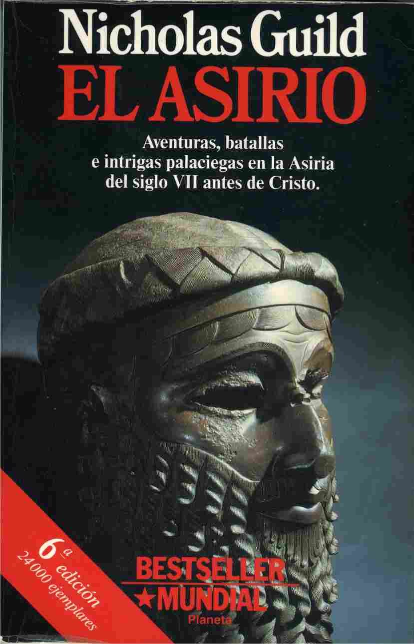 Resultado de imagen de El asirio, Nicholas Guild
