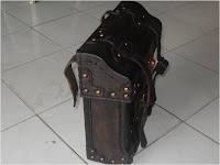 tas kulit untuk onthel