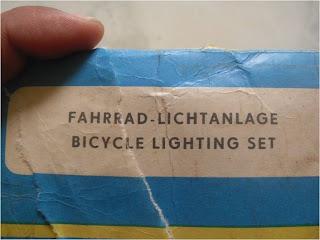 Klithikan sepeda onthel Lampu RUHLA